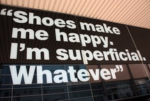 sweep me off my feet / heels, flats, boots, booties, slippers, sandals and what ever my schizophrenic feet desire
