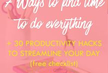 Productivity / productivity, motivation, blogger, entrepreneur, get stuff done, unmotivated,