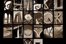 Alphabet / Here are my versions of Photographic Alphabet.