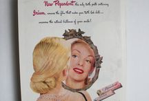 pink vintage posters