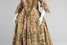 Georgian fashion: 1714 - 1750
