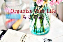Organization, home and work