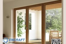 UPVC Windows & Doors – Saves Energy,Blocks Noise and Rain‎ / Future at your doorstep : #UPVC_Windows & #Doors Everybody wants to walk with times. #ENCRAFT #uPVC windows and doors are the trendsetters in quality and style. Customized to suit wide range of sizes and décor, #ENCRAFT profiles are so elegant and stylish that they animate any building – be it #house, #apartment, #bungalow, #institution, #hospital or #hotel.