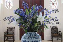 Flowers for arrangements, display inspirations.