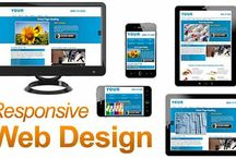 Professional Responsive Web Design / As of april 21st 2015 Google is now penalizing your website on mobile searches if it's not mobile responsive.