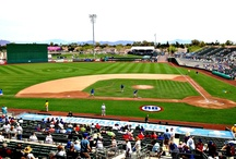 Spring Training Mesa / Cactus League Spring Training in Arizona brings many fans to the area. The Chicago Cubs and the Oakland Athletics come to Mesa every spring and die-hard fans stay at the Mesa Mezona Hotel. We can't wait for our regular guests and baseball fans to visit as Downtown Mesa becomes even a more happier, vibrant place as they catch baseball games at the Hohokam Stadium and Sloan Park.