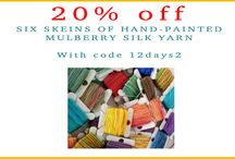 Holiday Deals 2013 / by Mirrix Tapestry & Bead Looms