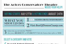 VOTE Best of Denton County / Best of Denton County, Vote for us!