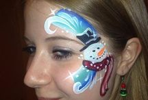Christmas Face Paint / by Nora Machado