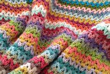 Crochet blanket it