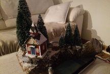 Idee Natale / Decorazioni natalizie e idee regalo realizzate artigianalmente con materiali ecologici mmcontatti@gmail.com