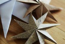 diy Paper stars / diy paper stars