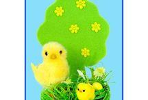 Idee Decorative per Pasqua - Easter decoration ideas / È sempre molto divertente decorare per Pasqua! Vi proponiamo alcune semplici e colorate decorazioni da utilizzare per creare i vostri set pasquali!