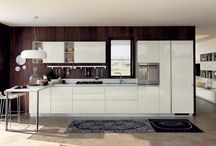 White Modern kitchens / White Contemporary kitchens in different finishes