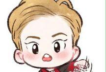 EXO LOTTO Fan Art / Cr. Cookie