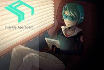 Invisible Apartment & Jessica / http://www.invisibleapartment.com cyberpunk visual novel - story & production by Milan Kazarka http://www.milankazarka.com & illustrations by Camila Gormaz - http://www.bura.cl