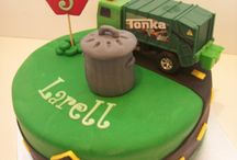 Birthday Cakes / Garbage Truck