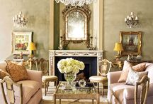 Pastels, Crystal & Gold Design with Greystone Fine Furniture