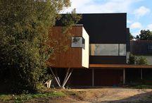 Maison - Combrit (29) / Maison d'habitation  - JANVIER 2013 - MAITRISE D'OUVRAGE : PRIVÉE - SURFACE : 176m2 - MATÉRIAUX : Ossature bois - MISSION COMPLÈTE