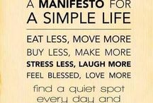Lifestyle - Simplicity