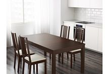 Dining room table and storage