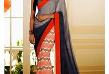Casual saree / Buy online Shop for casual sarees and latest casual saris online At Parisworld.in . Select  from latest Bollywood stylish and designer casual saree collection and get express shipping to UK,USA,Canada,Australia and worldwide.
