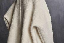 cape en tricot blanc