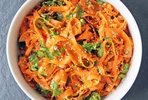 Cooking  - carrot salad