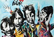 """The Beatles PaintingFour book / Book's The Beatles """"PaintingFour"""" by pablopez. +info: www.pablopez.com.uy"""