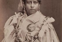 Royal Indian Portraits  / Portraits of members of former Princely States of India.
