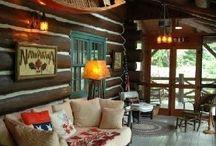 Cabin decor / by Michelle Hacker
