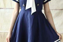 Sjömansklänning