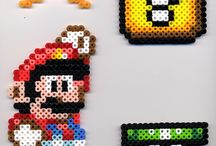 Perler mario / by Created From the Art