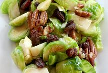 Salads / Brussels sprouts
