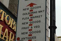 Mercadillos en Londres - Portobello Market / Fotos del mercadillo londinense Portobello Market