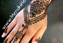Henna / Mendhi / by Candy Coffie