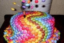 Gâteaux anniversaire / Gâteau smarties
