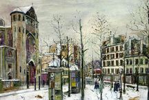 Maurice Utrillo (1883 - 1955) / Art from France.