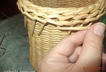 Szélek eldolgozása/Borders-Papírfonás/Paper weaving