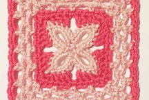 Crochet - Granny Squares / Granny squares, afghan blocks, coasters, potholders, and general piecing inspiration. / by Keara Christine
