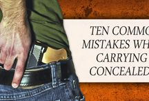 Firearms - Concealed Carry