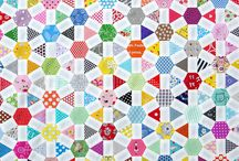 English Paper Piecing quilts and blocks