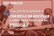 Agile Momentum / Inspirações para que você se torne uma pessoa criativa, inovadora na resolução dos problemas!