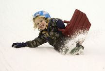 Sledging  & Ice Slide / Sledging on real snow, year round at Snow Factor Braehead, Glasgow.   No skills, just thrills.... (age 3+)