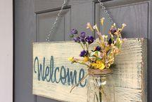 decoracao porta