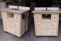 Ana White plan for router table