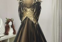 medieval and fantasy dresses