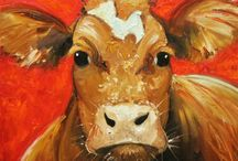 Cow art  / Cow paintings