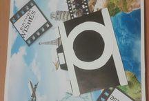My postcards