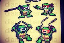 Hama Beads Turtles / Pyssel